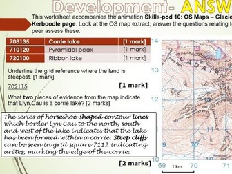 2017-2018 Year 11 OCR B Revision 32) Upland and Lowland FREE Revision WITH ANSWERS