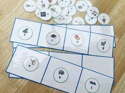 Phoneme frames & alphabet cards