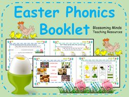 Year 1 Easter Phonics Booklet (20 pages)
