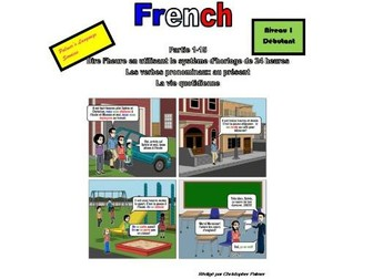 French for Adults: Beginners: Part 15: Reflexive verbs in the present tense, daily routine