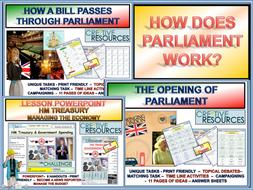Treasury + Politics + Parliament