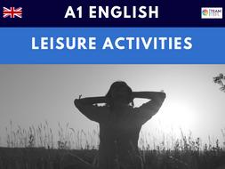 Leisure Activities A1 Beginner ESL Lesson Plan