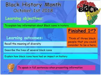 Black History Month: Black icons