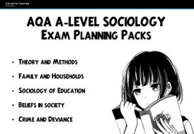 AQA A Level Sociology Exam Practice Packs by randomgirly