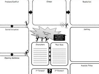 Short Story Planning Flow Chart