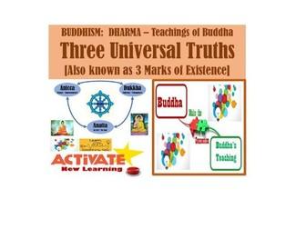 3 Universal Truths - BUDDHISM