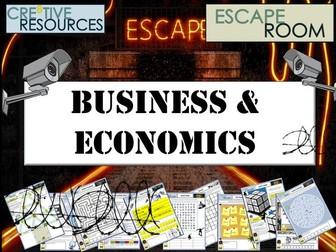 A Level Economics and Business Escape Room
