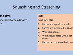 KS3 Squashing and Stretching
