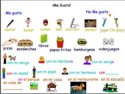 Spanish sentence-makers