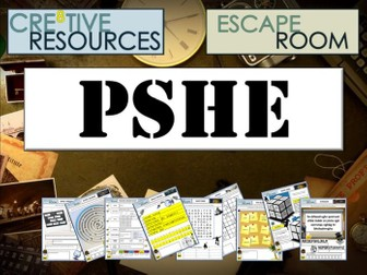 PSHE Escape Room