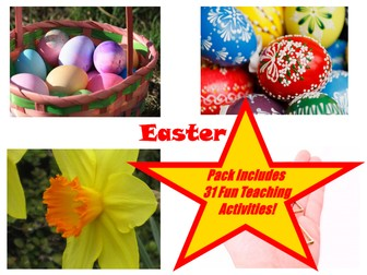 Are you teaching Easter? Are you looking for a wide range of different, colourful images to help you