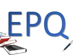L3 Extended Project Qualification (EPQ) - whole course