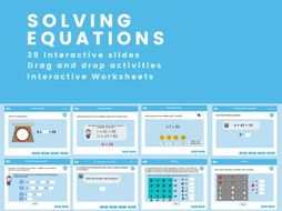 Solving Equations and Missing Number Problems - Year 6