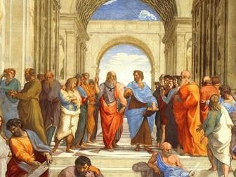 Greek Philosophy Revision Lesson