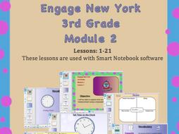 Engage New York (Eureka Math) 3rd Grade, Module 2 (SMART NOTEBOOK SOFTWARE)