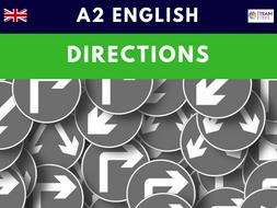 Directions A2 Pre-Intermediate ESL Lesson Plan