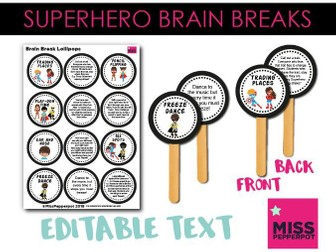 Superhero Brain Breaks, Superhero Theme, Superhero Activity, Superheroes, Brain Breaks