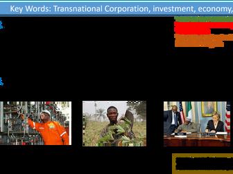 GCSE Geography- Nigeria Case Study- Changing Economic World