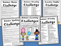 End of Year Summer Learning Challenge Packet