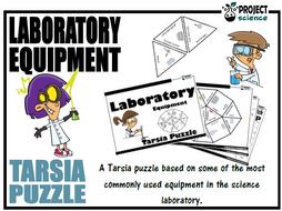 Laboratory EquipmentTarsia Puzzle