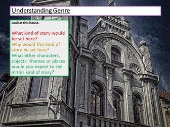 Creative Writing Understanding Genre