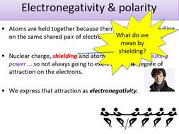 Ks5 Electronegativity Polarity Teacher Powerpoint Student