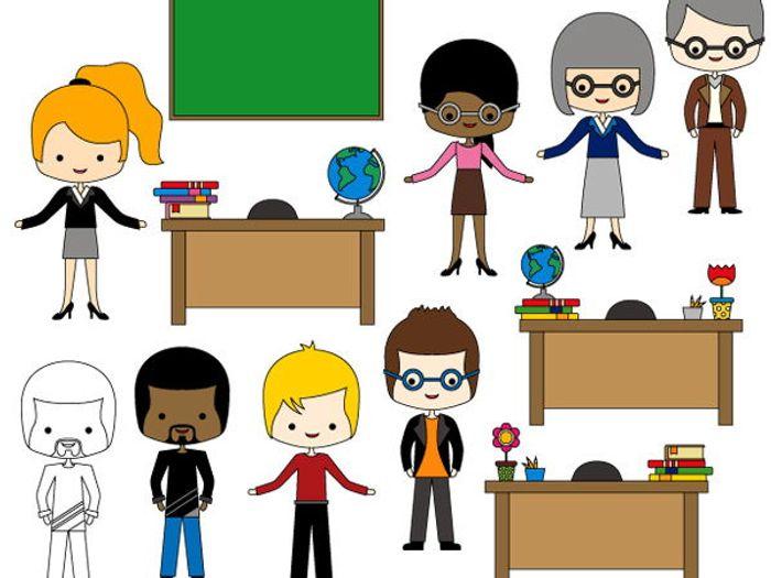 meet the teachers clip art multicultural teachers clipart rh tes com Other Clip Art Bookcase Clip Art