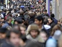 Population distribution of the UK
