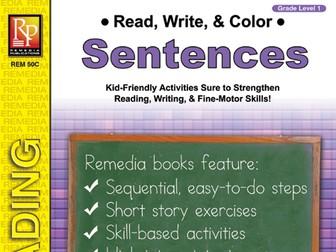 Read, Write, & Color: Sentences