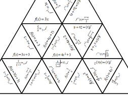 Inverse functions Tarsia Puzzle by tomprotheroe92