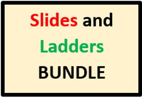 Vocabulary Slides and Ladders Bundle