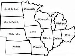MIDWEST REGION OF THE UNITED STATES by tspeelman