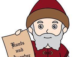 Biography Bundle: Famous Germanic People (Gutenberg, Merkel, Luther) 5 Bios!