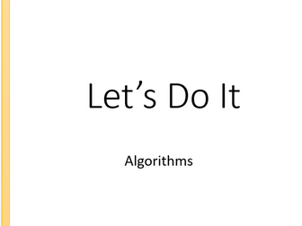 GCSE Computer Science 9-1 Sorting & Searching Algorithms