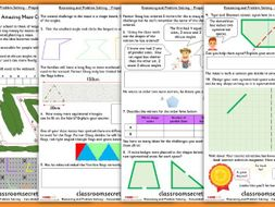Properties of Shape Maths Consolidation Year 4 Summer Block 5 Reasoning and Problem Solving