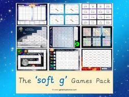 The 'Soft g' Phonics Games Pack (Year 2)