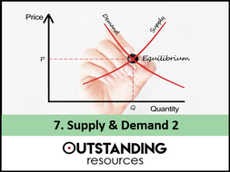Economics Lesson 07 Supply And Demand 2 5 Extra Resources By