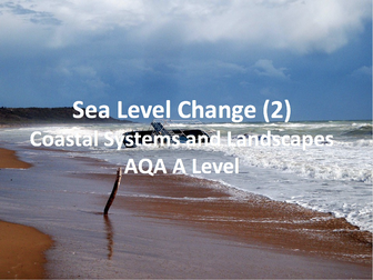 Coastal Systems and Landscapes - Section B - AQA A Level