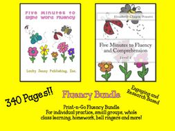 Five Minutes to Fluency Bundle + DOL on the Side