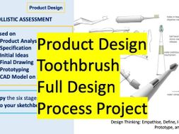 Design Process Toothbrush Project