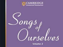 CIE English Literature GCSE Songs of Ourselves Volume 2 Part 2