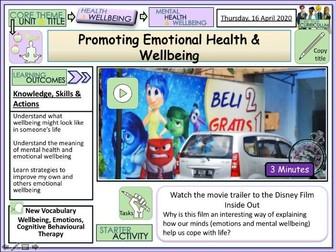 Emotional Health & Wellbeing