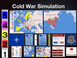 The Cold War Simulation Activity + 1 Year Subscription to the Online Platform