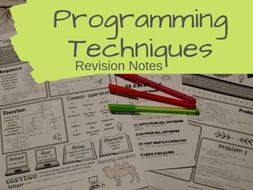 Programming Techniques Revision