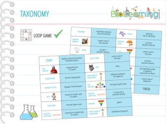 Taxonomy - Loop Game (KS5)