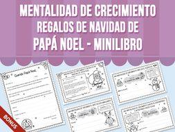 Mentalidad de Crecimiento - Regalos de Navidad de Papá Noel - Minilibro - SPANISH VERSION