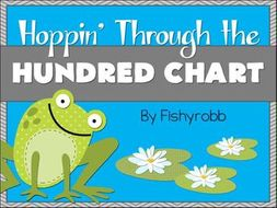 Hoppin' Through The Hundred Chart Games and Centers