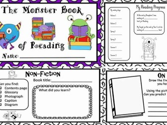 The Monster book of reading Year 1