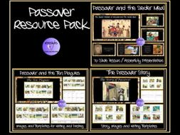 Passover: Ten Plagues, Passover Story, Seder Meal - Worksheets