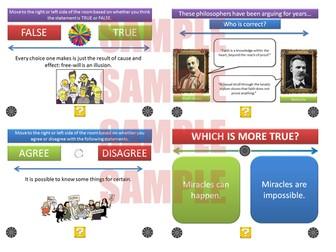 The Philosophy & Ethics Debate Pack [P4C] [Philosophy for Children] [Over 400 Debates!]